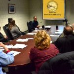 Meeting with the East Providence Historic District Commissioners on January 10, 2018