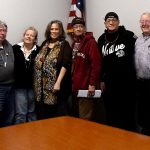 Meeting with Pokanoket Tribal Members