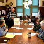 Meeting with Swansea Historical Society