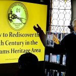 The History of Sowams presented at the George Hail Library