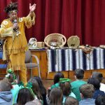 Palmer Elementary School learns about the Pokanoket Tribe