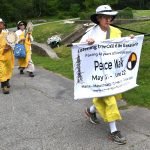 Buddhist Peace Walk visits Mt. Hope and Massasoit Memorial