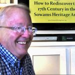 Dr. Weed presents the Sowams Heritage Area to residents of North Farm in Bristol, RI