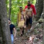Walk of Pineese Ceremony at Mount Hope in Bristol