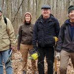 Haile Farm Preserve in Warren, RI, gets ready to open trails for the Spring