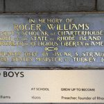 Roger Williams' Early Life in London, England