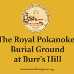 History of the Royal Pokanoket Burial Site in Warren, RI described