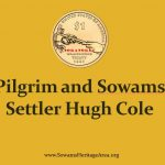 Pilgrim and Sowams Settler Hugh Cole