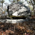 Carl Ferreira describes the Native American rocks on the Pocasset Ridge Trail