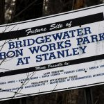 Iron Works at Stanley, established in 1691, was the first in the U.S. to produce iron