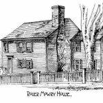 Roger Mowry Tavern, once a 17th century Providence landmark