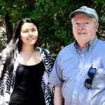 Grad student meets with Dr. Weed to talk about Sowams