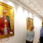 Sowams paintings now displayed at the Barrington Library